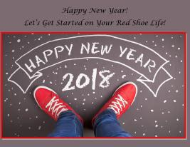 Happy New Year Red Shoe Life 2018